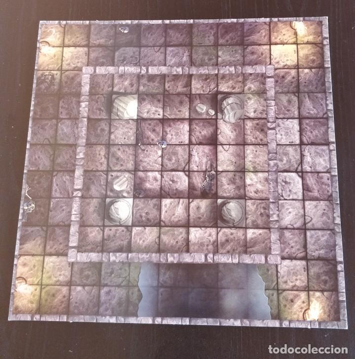 Juegos Antiguos: DUNGEONS DRAGONS Tablero doble 1-2 Double Gameboard DRAGONES MAZMORRAS PARKER juego mesa ROL - Foto 2 - 226577265