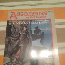 Juegos Antiguos: ASESINOS DE DOL AMROTH - SEÑOR DE LOS ANILLOS - MERP - JUEGO DE ROL - EN INGLÉS. Lote 226930850