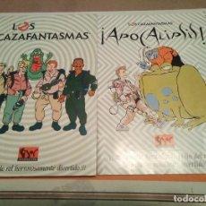 Jeux Anciens: CAZAFANTASMAS + MODULO APOCALIPSIS - JUEGO DE ROL. Lote 226932055