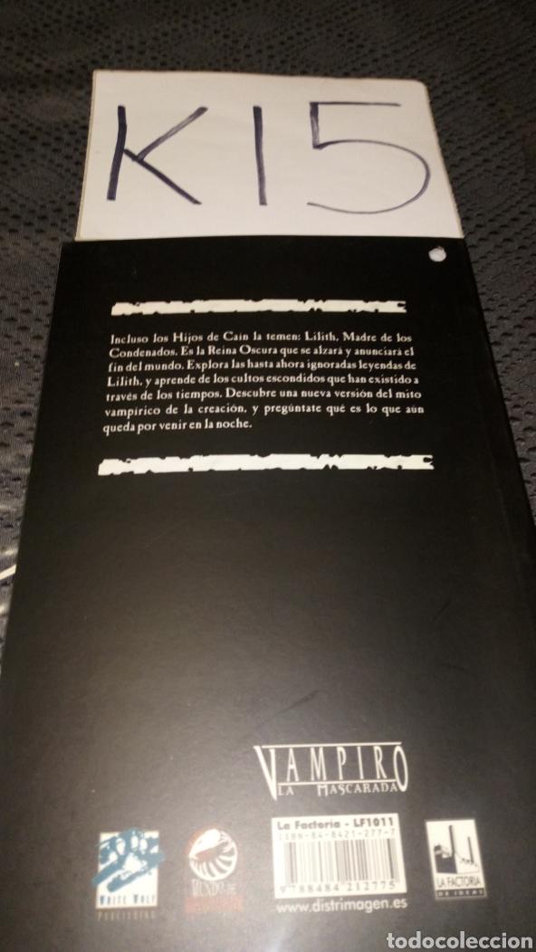 Juegos Antiguos: Revelaciónes de la madre oscura vampiro la mascarada mundo tinieblas White Wolf la factoria de ideas - Foto 3 - 228060620