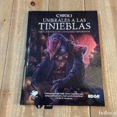 Juegos Antiguos: LA LLAMADA DE CTHULHU 7 EDICION - UMBRALES A LAS TINIEBLAS - JUEGO ROL - EDGE - PRECINTADO. Lote 228148180