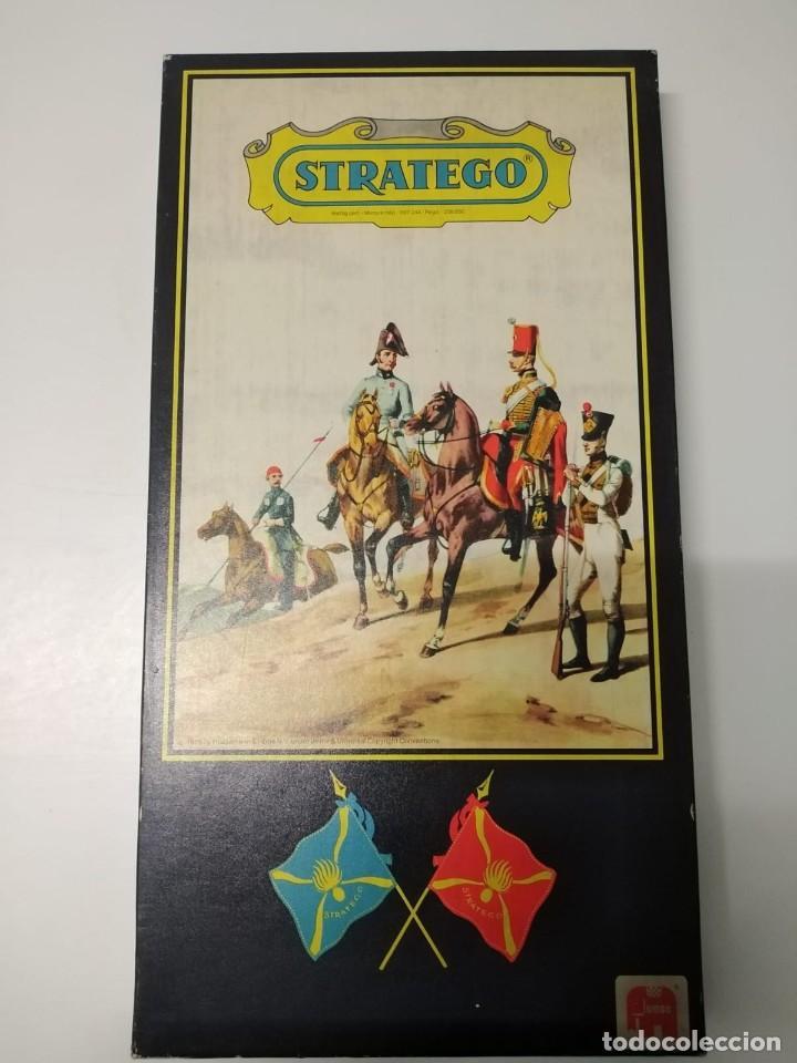 JUEGOS DE MESA STRATEGO. AÑOS 70. COMPLETO. BIEN CONSERVADO (Juguetes - Rol y Estrategia - Otros)
