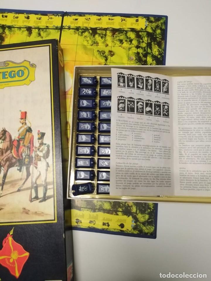 Juegos Antiguos: Juegos de mesa stratego. Años 70. Completo. Bien conservado - Foto 6 - 228349290