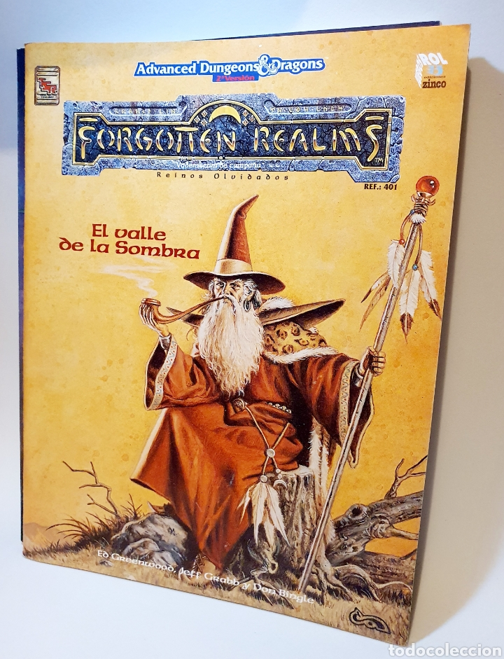 Juegos Antiguos: Advanced Dungeons&Dragons REINOS OLVIDADOS VADEMECUM DE CAMPAÑA ( ZINCO 401 ) - Foto 4 - 228585165