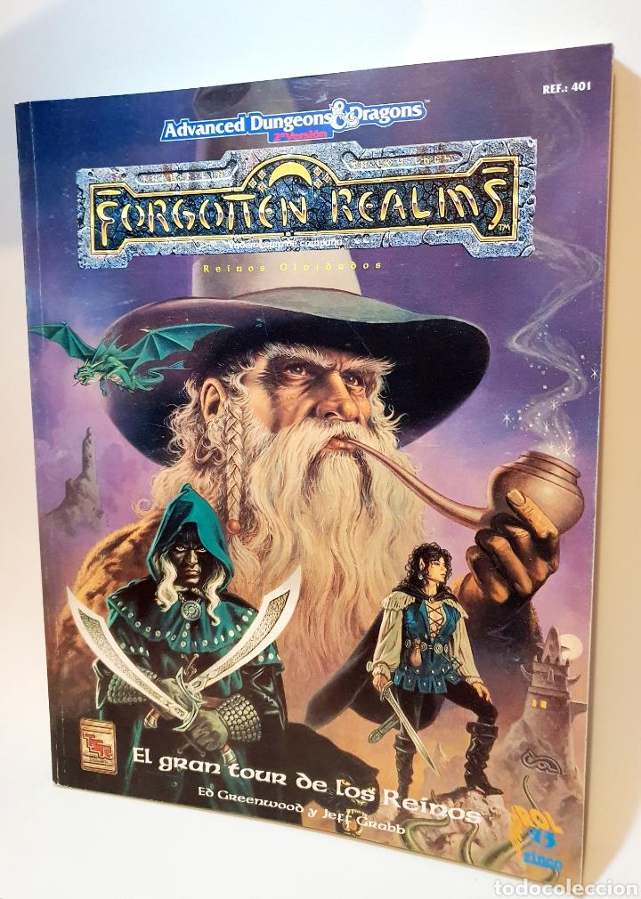Juegos Antiguos: Advanced Dungeons&Dragons REINOS OLVIDADOS VADEMECUM DE CAMPAÑA ( ZINCO 401 ) - Foto 5 - 228585165