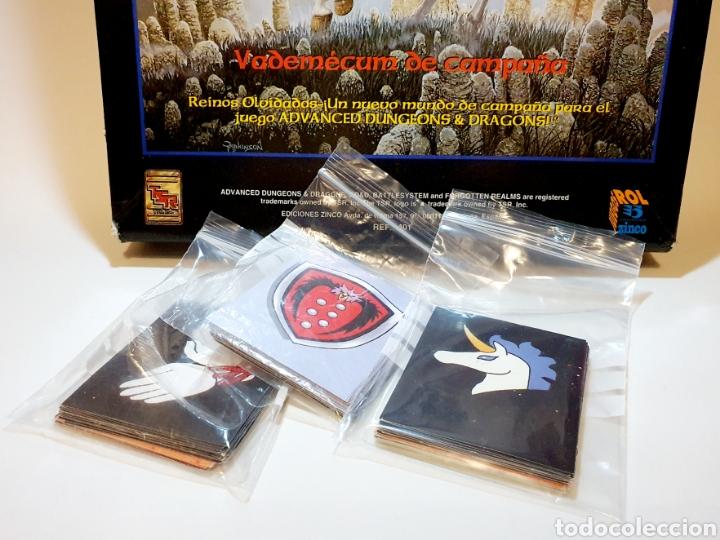 Juegos Antiguos: Advanced Dungeons&Dragons REINOS OLVIDADOS VADEMECUM DE CAMPAÑA ( ZINCO 401 ) - Foto 6 - 228585165
