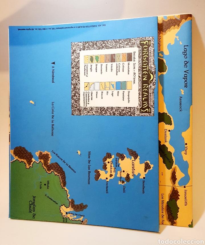 Juegos Antiguos: Advanced Dungeons&Dragons REINOS OLVIDADOS VADEMECUM DE CAMPAÑA ( ZINCO 401 ) - Foto 8 - 228585165