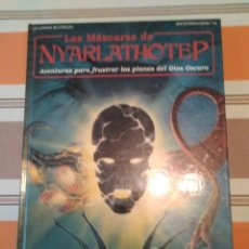 Jeux Anciens: MASCARAS DE NYARLATHOTEP - LLAMADA DE CTHULHU - JUEGO DE ROL. Lote 228603580