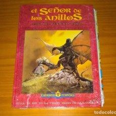 Juegos Antiguos: EL SEÑOR DE LOS ANILLOS JUEGO DE AVENTURAS BASICO LIBRO DE ROL DE LA TIERRA MEDIA JOC PRECINTADO. Lote 229537345