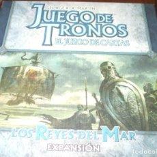 Juegos Antiguos: JUEGO DE TRONOS EL JUEGO DE CARTAS: LOS REYES DEL MAR. Lote 229569935