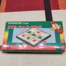 Juegos Antiguos: JUEGO MAGNÉTICO ANTIGUO 3 EN RAYA.. Lote 229750000