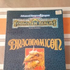 Jeux Anciens: DRACOMOMICON - DUNGEONS AND DRAGONS - ROL - REINOS OLVIDADOS. Lote 229814875