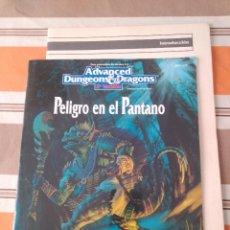 Juegos Antiguos: PELIGRO EN EL PANTANO - JUEGO DE ROL - ADVANCED DUNGEONS. Lote 229819960