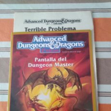 Jeux Anciens: PANTALLA + MODULO - ADVANCED DUNGEONS - JUEGO DE ROL. Lote 229820855