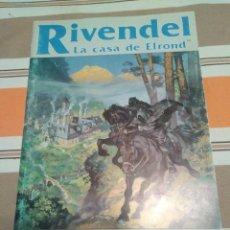Juegos Antiguos: RIVENDEL LA CASA DE ELROND - SEÑOR DE LOS ANILLOS - JUEGO DE ROL - MERP. Lote 230070095