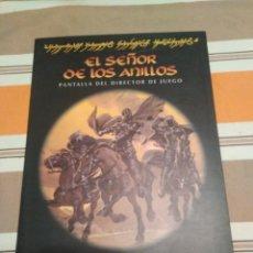 Juegos Antiguos: PANTALLA SEÑOR DE LOS ANILLOS - MERP - JUEGO DE ROL. Lote 230080130