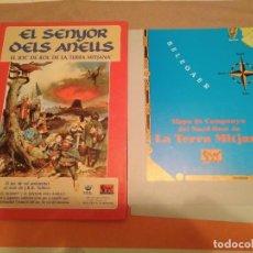 Juegos Antiguos: SENYOR DELS ANELLS - SEÑOR DE LOS ANILLOS - JUEGO DE ROL - MERP. Lote 230091740