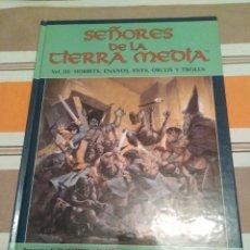 Juegos Antiguos: SEÑORES DE LA TIERRA MEDIA VOLUMEN III - 3 - JUEGO DE ROL - SEÑOR DE LOS ANILLOS. Lote 230097925