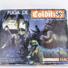 Juegos Antiguos: JUEGO DE MESA NAC LA FUGA DE COLDITZ AÑOS 80. Lote 230691985