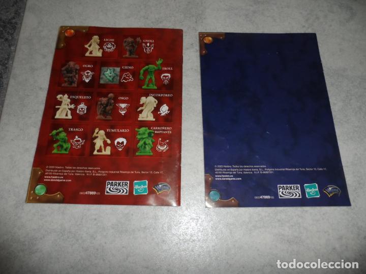 Juegos Antiguos: JUEGO DE MESA DUNGEONS & DRAGONS 2003 PARKER - Foto 6 - 231010940