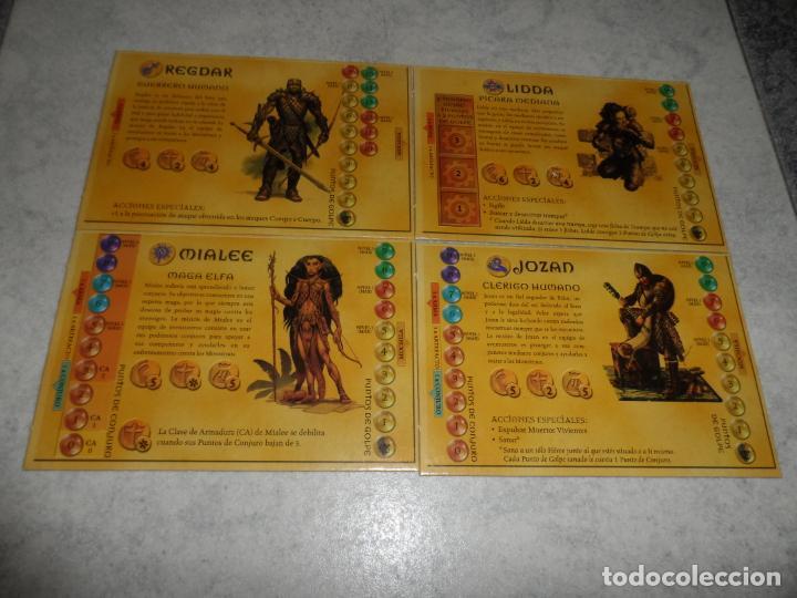 Juegos Antiguos: JUEGO DE MESA DUNGEONS & DRAGONS 2003 PARKER - Foto 7 - 231010940