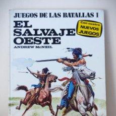 Juegos Antiguos: JUEGO DE LAS BATALLAS 1 - EL SALVAJE OESTE - ANDREW MCNEIL 1977 - PLAZA Y JANES. Lote 231761295