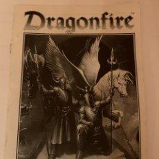 Juegos Antiguos: REGLAMENTO DRAGONFIRE. Lote 232411965