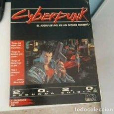 Juegos Antiguos: CYBERPUNK - BASICO - EL JUEGO DE ROL EN UN FUTURO SOMBRIO 2.0.2.0. 2020 M+D EDITORES. Lote 232250140
