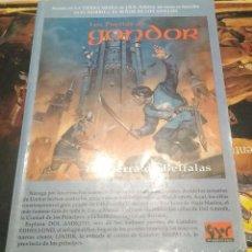 Juegos Antiguos: LOS PUERTOS DE GONDOR - SEÑOR DE LOS ANILLOS - JUEGO DE ROL (SIN MAPA). Lote 226925595