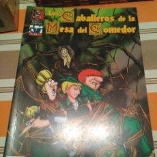 Juegos Antiguos: CABALLEROS DE LA MESA DEL COMEDOR 2 - MONTON DE LIOS - ROL - COMIC. Lote 233751310