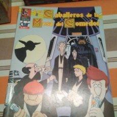 Juegos Antiguos: CABALLEROS DE LA MESA DEL COMEDOR 3 - MONTON DE LIOS - ROL - COMIC. Lote 233751340