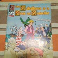 Juegos Antiguos: CABALLEROS DE LA MESA DEL COMEDOR 14 - MONTON DE LIOS - ROL - COMIC. Lote 233751670