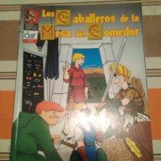 Juegos Antiguos: CABALLEROS DE LA MESA DEL COMEDOR 15 - MONTON DE LIOS - ROL - COMIC. Lote 233751765