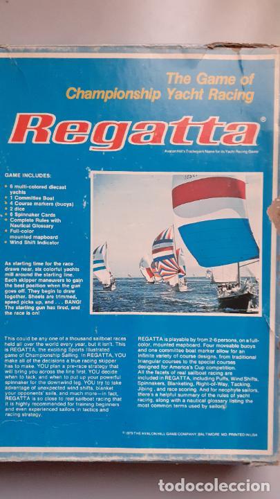 Juegos Antiguos: Regatta de Avalon Hill - Foto 2 - 233980440