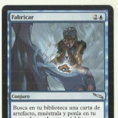 Jogos Antigos: CARTA MAGIC THE GATHERING. DECKMASTER. FABRICAR. CONJURO. GLEN ANGUS. Lote 233984890