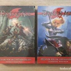 Juegos Antiguos: DRAGON AGE. JUEGO DE ROL DE FANTASIA OSCURA: CAJA BASICA Y CAJA INTERMEDIA - NUEVOS SIN DESPRECINTAR. Lote 234100500