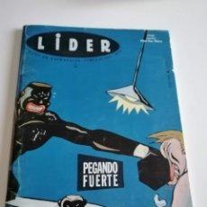 Juegos Antiguos: REVISTA LIDER Nº20. PEGANDO FUERTE.. Lote 236194895