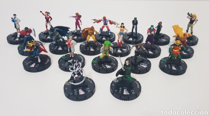 LOTE 20 HEROCLIX- HARLEY QUINN AND THE GOTHAM GIRLS (Juguetes - Rol y Estrategia - Otros)