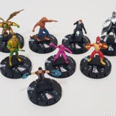 Juegos Antiguos: LOTE 8 HEROCLIX LA LIGA DE LA JUSTICIA. Lote 236296120
