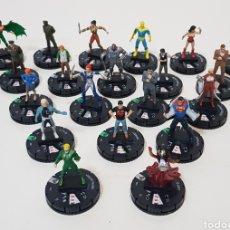 Juegos Antiguos: LOTE 20 HEROCLIX- SUPEMAN / WONDER WOMAN - DC COMICS 2015 - WIZKIDS. Lote 236333630