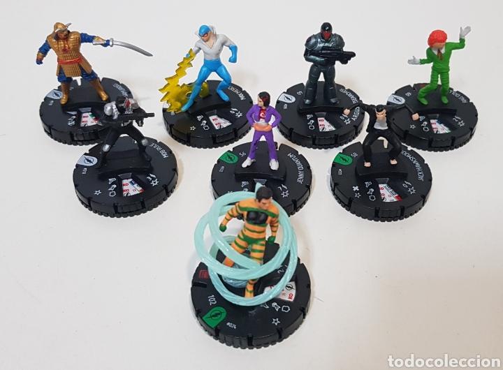 HEROCLIX - WIZKIDS - LOTE 8 - FLASH - DC COMICS 2014 (Juguetes - Rol y Estrategia - Otros)
