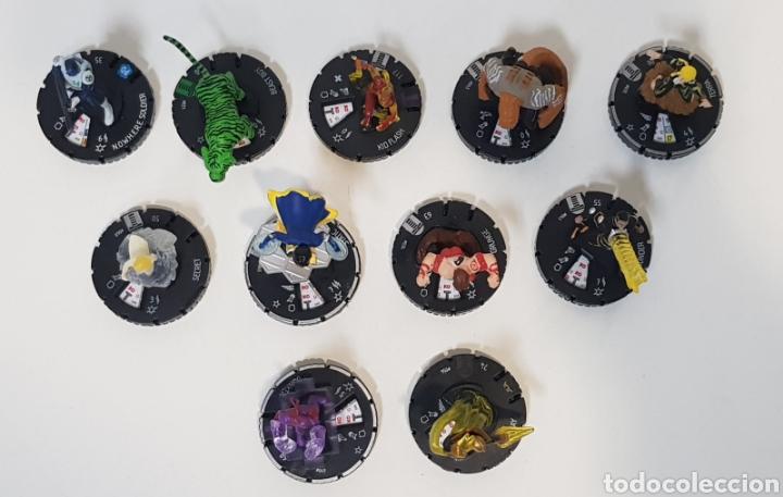 Juegos Antiguos: HEROCLIX - LOTE 11 MUÑECOS TEEN TITANS - 2 ORO, 7 PLATA, 1 VERDE y 1 BLANCA - 2013 - Foto 2 - 236374195