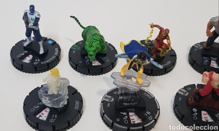 Juegos Antiguos: HEROCLIX - LOTE 11 MUÑECOS TEEN TITANS - 2 ORO, 7 PLATA, 1 VERDE y 1 BLANCA - 2013 - Foto 6 - 236374195