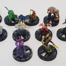 Juegos Antiguos: HEROCLIX - LOTE 11 MUÑECOS TEEN TITANS - 2 ORO, 7 PLATA, 1 VERDE Y 1 BLANCA - 2013. Lote 236374195