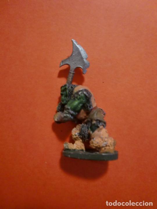 ORCO GRENADIER PLOMO SELLADO EN BASE 1987 2'5 X 1'8 CM. (Juguetes - Rol y Estrategia - Otros)