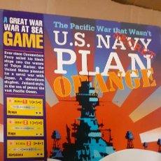 Juegos Antiguos: WARGAME US NAVY PLAN ORANGE. AVALANCHE PRESS. Lote 239622655