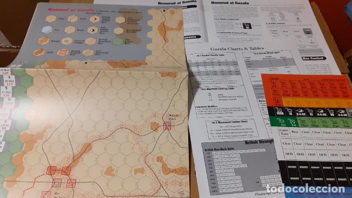 WARGAME REVISTA COMMAND. ROMMEL AT GAZALA (Juguetes - Rol y Estrategia - Otros)