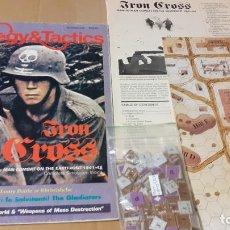 Juegos Antiguos: WARGAME IRON CROSS. STRATEGY AND TACTICS. Lote 240223795