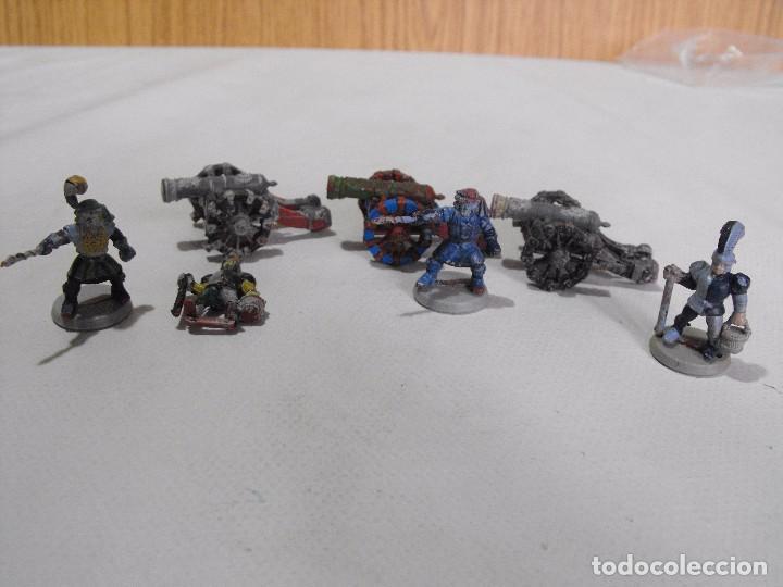Juegos Antiguos: Battle Masters de MB juegos. !992. Lote de 3 cañones imperiales con dotación y pintura. - Foto 2 - 240774085