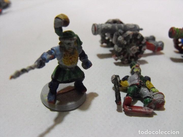 Juegos Antiguos: Battle Masters de MB juegos. !992. Lote de 3 cañones imperiales con dotación y pintura. - Foto 3 - 240774085